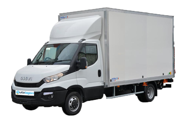 IVECO Daily 20m3 Hayon